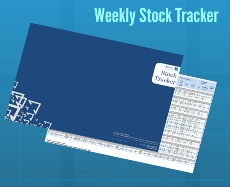 Weekly Stock Trackers